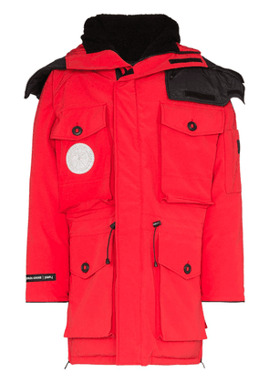 Canada Goose x juun.j Expedition hooded parka coat - Red