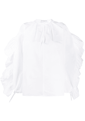 Givenchy ruffled sleeve blouse - White