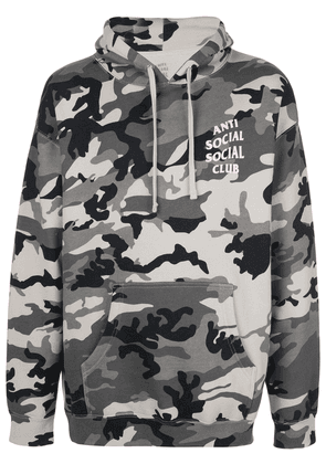Anti Social Social Club Melrose Camo hoodie - Grey