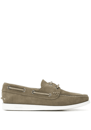Church's lace-up boat shoes - Grey