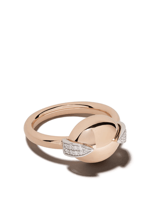 Botier 18kt rose gold Earth diamond ring - 18 CT. ROSE GOLD