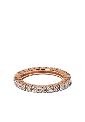 Botier 18kt rose gold Big Day diamond eternity ring - 18 CT. ROSE GOLD