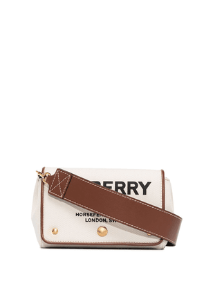 Burberry small Hackberry Horseferry print crossbody bag - Brown