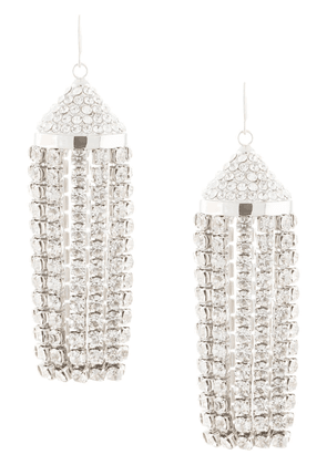AREA Tassel Chandelier drop earrings - SILVER