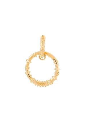Kasun London hoop drop earrings - GOLD