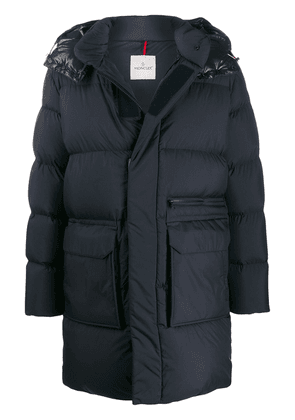 Moncler padded coat - Blue