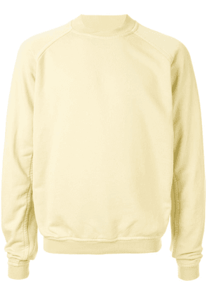 Haider Ackermann crew neck sweatshirt - Yellow