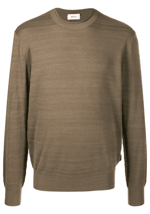 Z Zegna round-neck jumper - Green