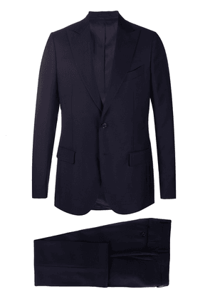 Dell'oglio slim fit two-piece suit - Blue