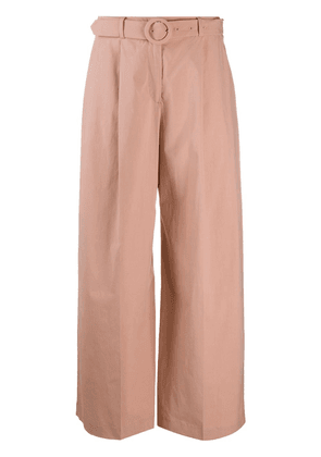 Seventy wide leg belted trousers - PINK