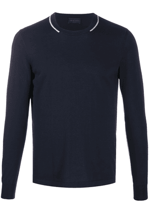 Roberto Collina crewneck jumper - Blue