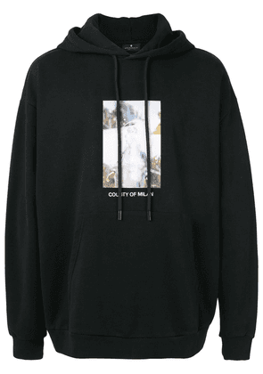 MARCELO BURLON COUNTY OF MILAN County of Milan hooded sweatshirt -