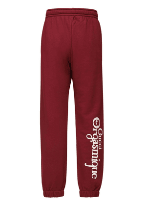 Orgasmique Print Cotton Sweatpants