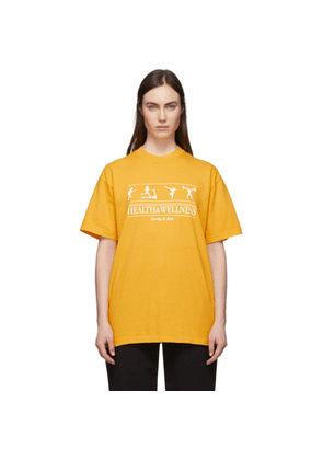 Sporty and Rich Yellow Health and Wellness T-Shirt