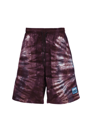 Reverb Printed Cotton Shorts