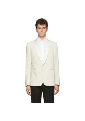 Paul Smith Off-White Velvet Evening Blazer