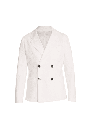 Double breasted coton jacket