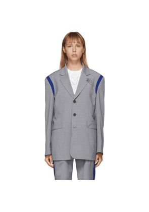 ADER error Grey Wool T-914 Spaceship Blazer