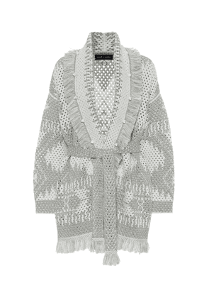Exclusive to Mytheresa – Icon wool and linen-blend cardigan