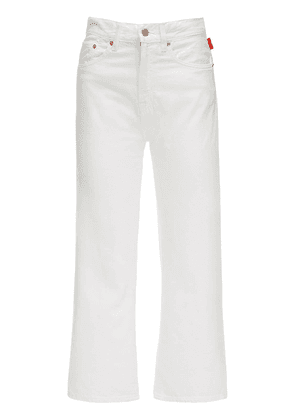 Pierce High Waist Cotton Denim Jeans
