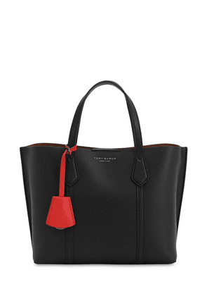 Small Perry Leather Tote Bag