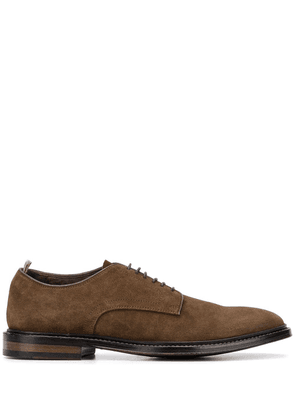Officine Creative Cornell textured style Derby shoes - Brown
