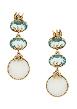 Camila Klein mother os pearl earrings - GOLD