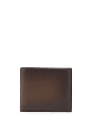 Tom Ford bifold leather wallet - Brown