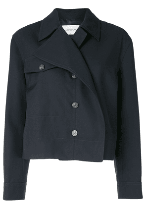 Cédric Charlier double-breasted jacket - Blue