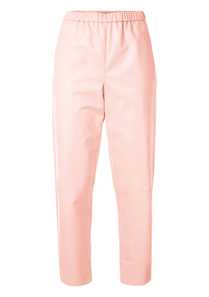 Drome straight-leg cropped trousers - PINK