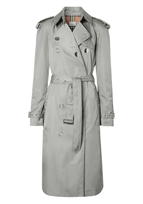 Burberry ECONYL® trench coat - Grey