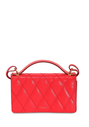 Gv3 Quilted Leather Crossbody Bag