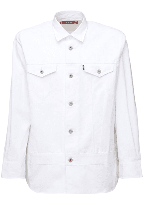 Levi's Broad Cotton & Linen Twill Shirt
