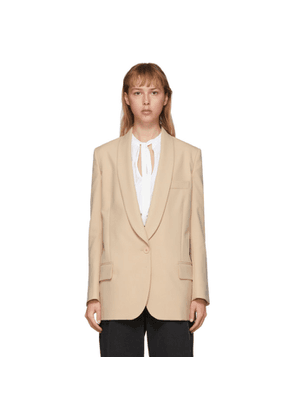 Stella McCartney Beige Allison Blazer