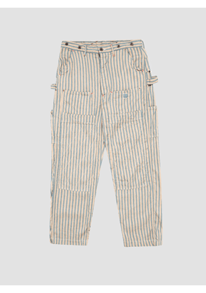 Kapital Linen BLUES LUMBER Pants Beige