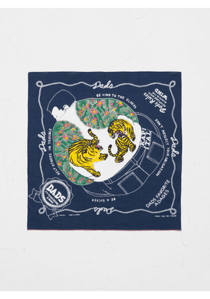 Kapital COLORFUL DAD Bandana Navy