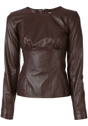 Christopher Esber Charli blouse - Brown