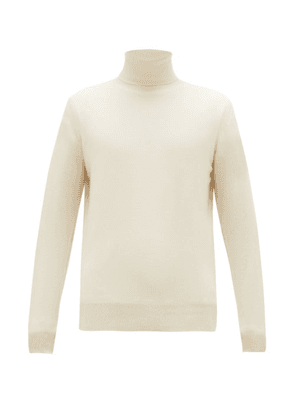 Raey - Roll-neck Cashmere Sweater - Mens - Ivory