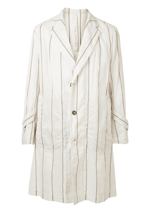 Forme D'expression loose duster coat - NEUTRALS
