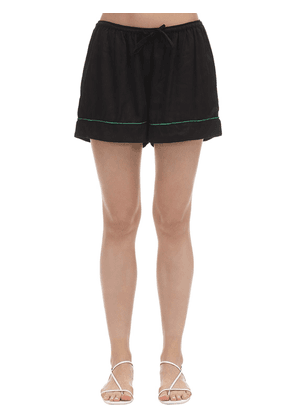Lisa Satin Pajama Shorts
