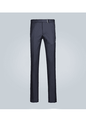Paul straight-leg pinstripe pants