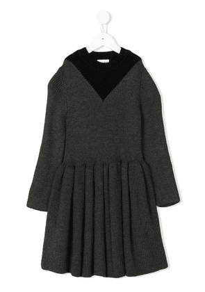 Wolf & Rita Helena long-sleeve dress - Grey