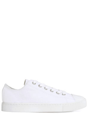 Low Top Cotton Canvas Sneakers