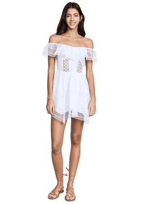 Charo Ruiz Vaiana Off Shoulder Dress