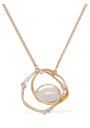 Ellipse Long Chain Necklace