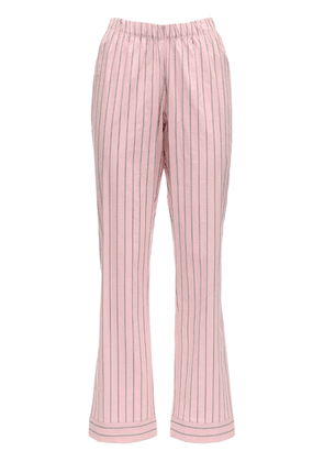 Audrey Striped Cotton Pajama Bottoms