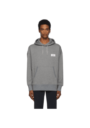 Givenchy Grey Atelier Givenchy Patch Hoodie