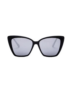 DIFF EYEWEAR Becky II in Black.