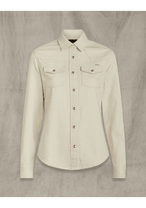 Belstaff WESTERN SHIRT White UK 4 /