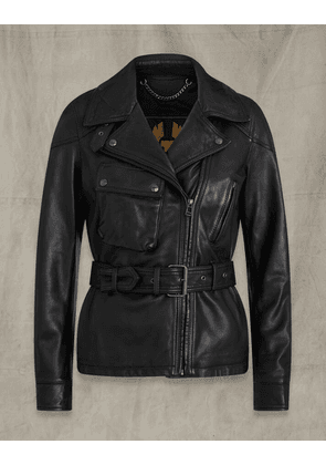 Belstaff SAMMY MILLER 2.0 JACKET Black UK 8 /